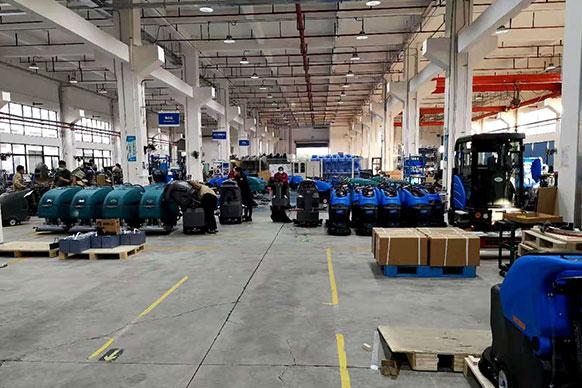 Завод підлогомийних машин Tennant Gaomei Rongen